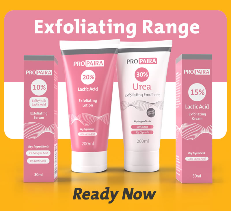 Propaira Exfoliating Range - Ready Now