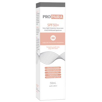 Propaira SPF50+ Sunscreen BB 50mL - Medium Tone