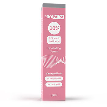 10% Exfoliating Serum 30ml   - (2% Salicylic Acid & 8% Lactic Acid)