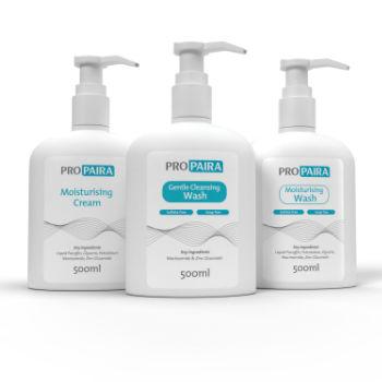 Moisturising Cream 500ml & Moisturising Wash 500ml & Gentle Cleansing Wash 500ml