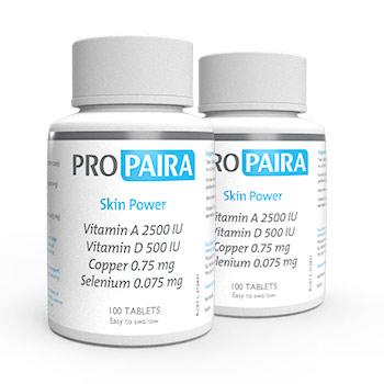 Skin Power 100 Tablets x 2 Bottles to promote Skin Health